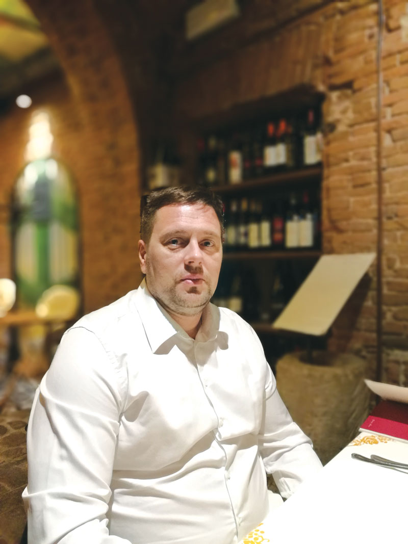 Petar Miljković, generalni direktor kompanije Zorka keramika d.o.o.
