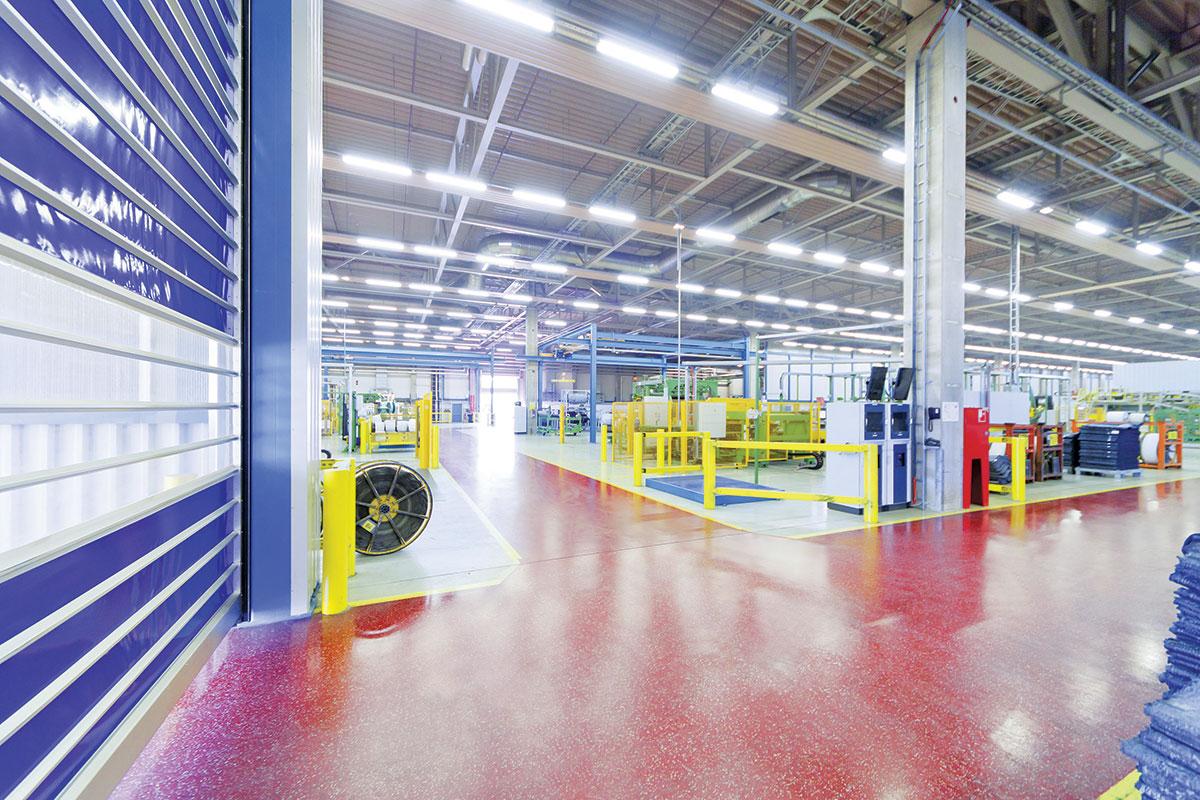 Industrijski podovi - poliuretan i epoksi premazi