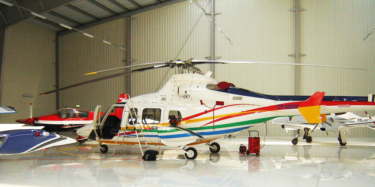 Tikkurila Temafloor 3000 za hangare aviona