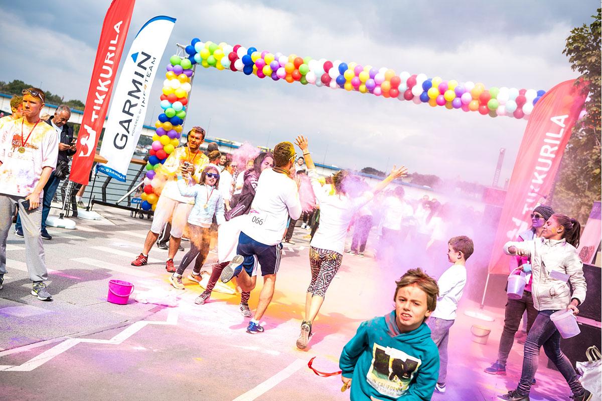 Treća trka s bojama u Srbiji – Color RUNNING powered by Tikkurila