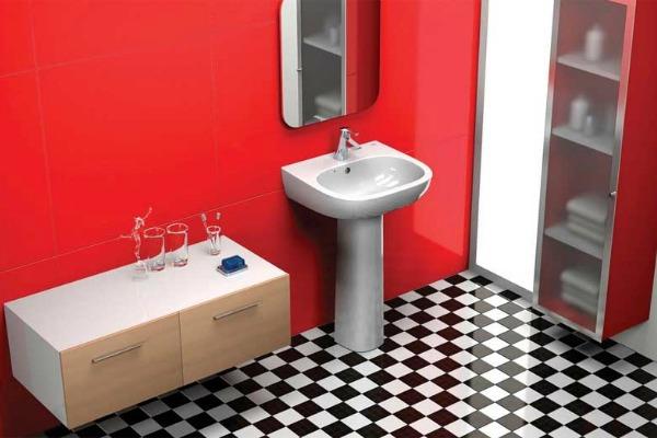 Šahovskom šarom možete oplemeniti kuhinju, kupatilo, dnevnu sobu, pa čak i trem