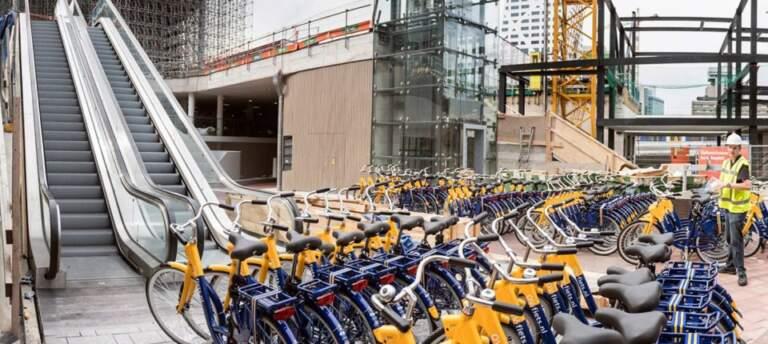 U prostoru od 17.000 kvadratnih metara organizovan je parking za 6.000 bicikala