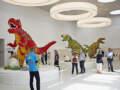 Avanturističke zone obuhvataju dva izložbena područja i četiri područja za igru