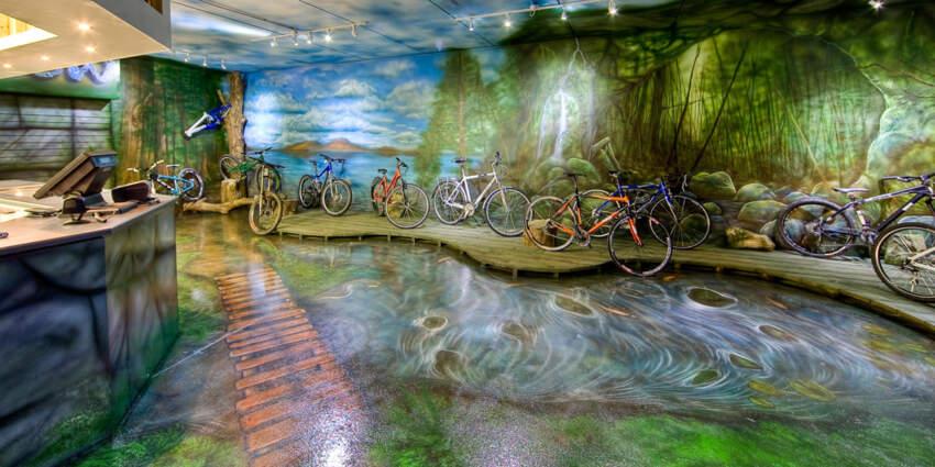 Tikkurila-Temafloor shopping center