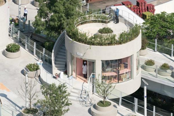 """Holandski dizajneri iz studija MVRDV pretvorili su deo napuštenog autoputa u Seulu u – """"biljno selo"""""""