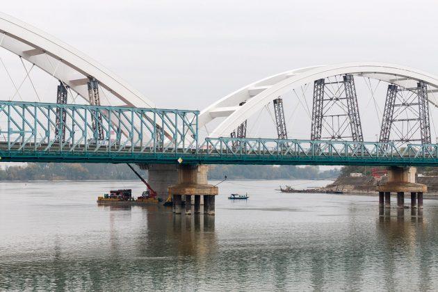 Novi Žeželjev most je replika starog, izgrađenog 1961. godine