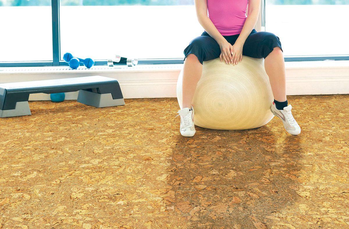 Pluta - podovi za fitnes centar
