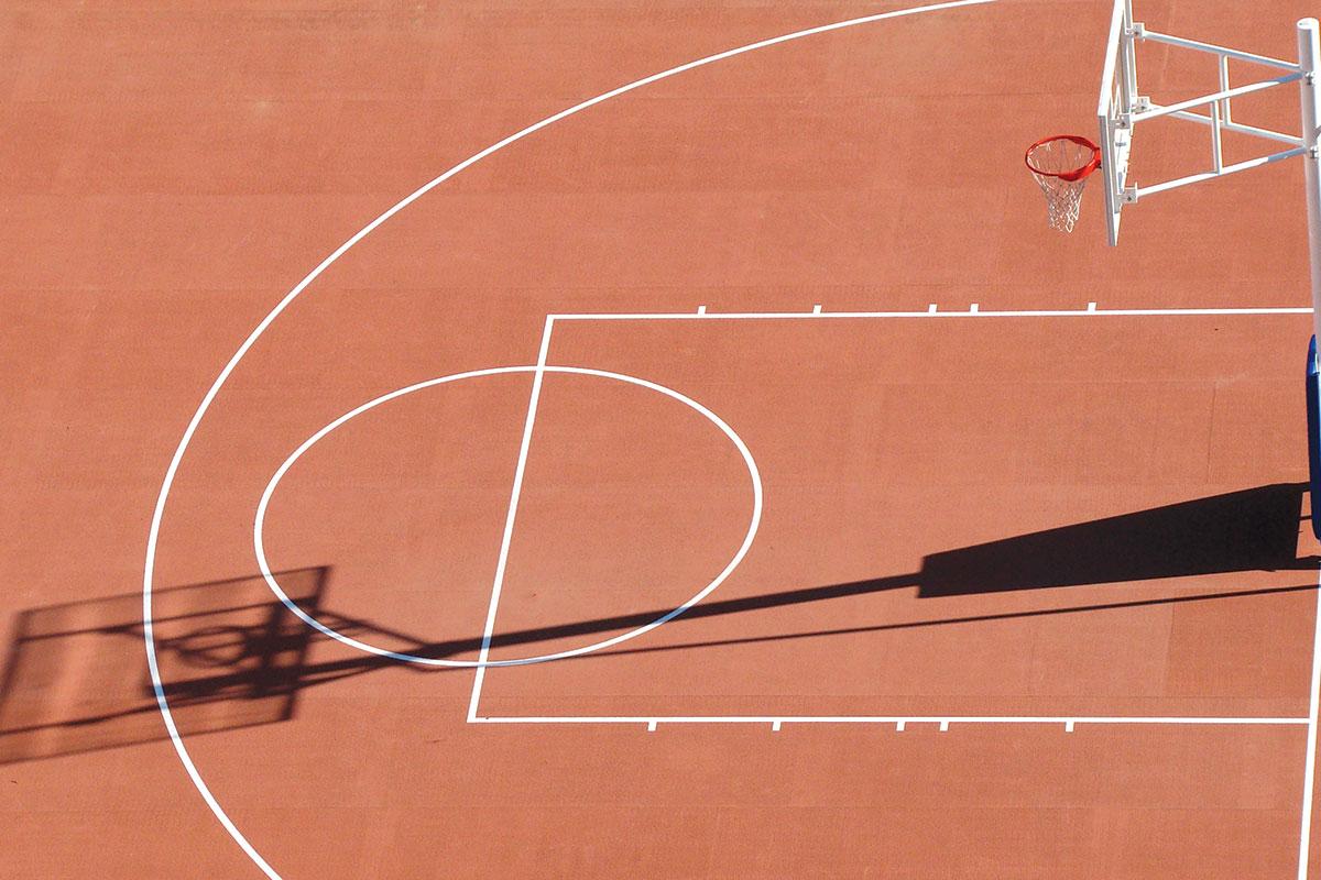 Sportski pod - Košarkaški teren