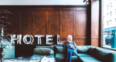 Hotel, recepcija