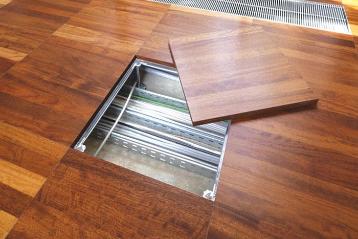 Dupli podovi - sve instalacije se postavljaju ispod panela