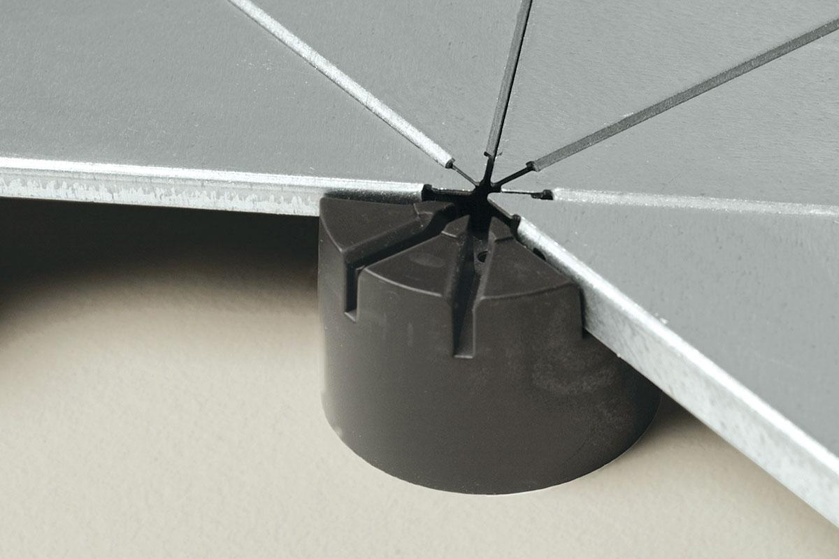 Dupli pod predstavlja podni sistem koji se sastoji iz aluminijumske ili čelične konstrukcije