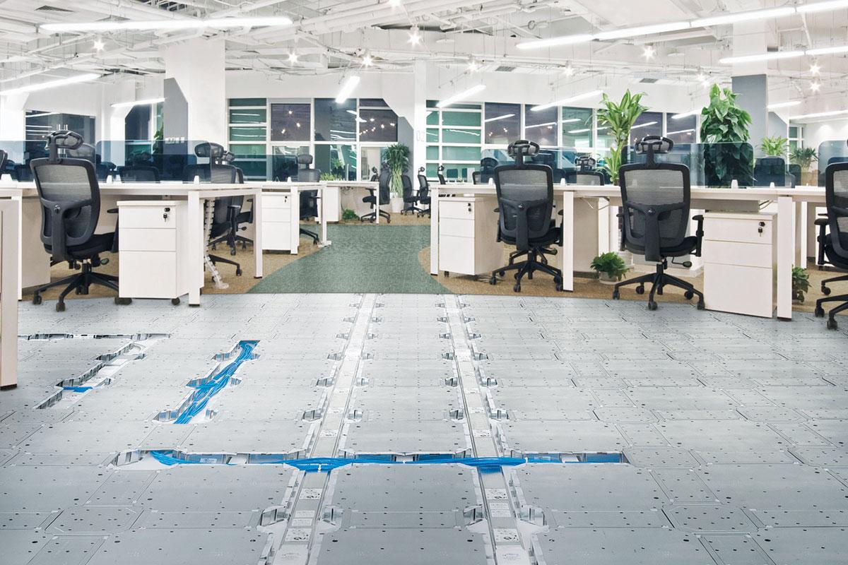 Za duple podove apsolutno nema ograničenja u izboru dekorativnog sloja