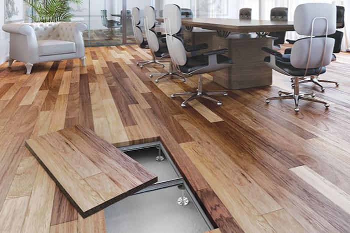 Dupli podovi - dekorativni sloj u vidu neke od standardnih podnih obloga