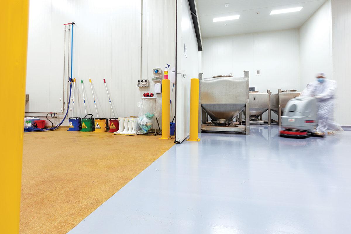 Poliuretanski podovi su otporniji na kiseline pre nego na baze