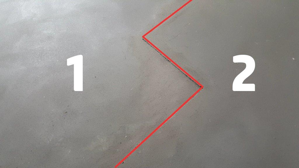 Izlivanje cementne košuljice u dva nivoa