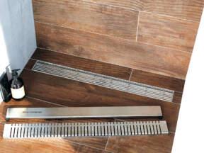 ACO Walk-in® kadica od nerđajućeg čelika sa pokrivnom rešetkom