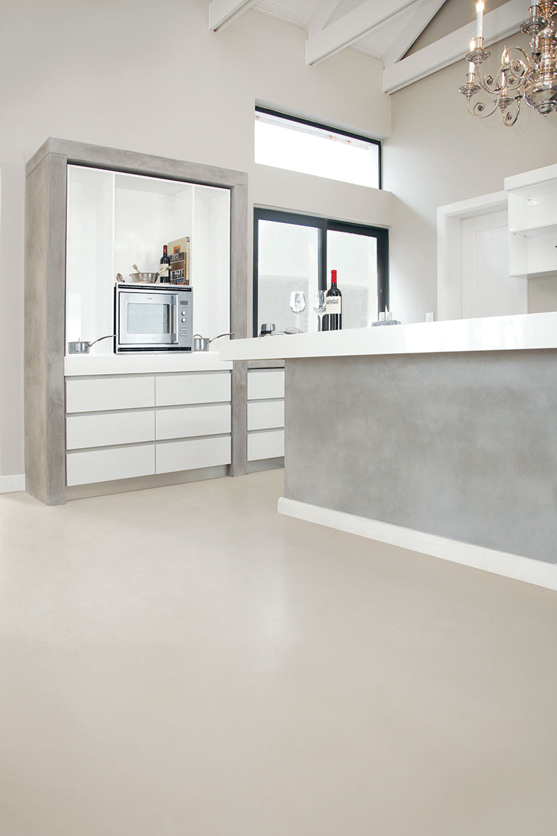 Industrijski podovi, polirani beton