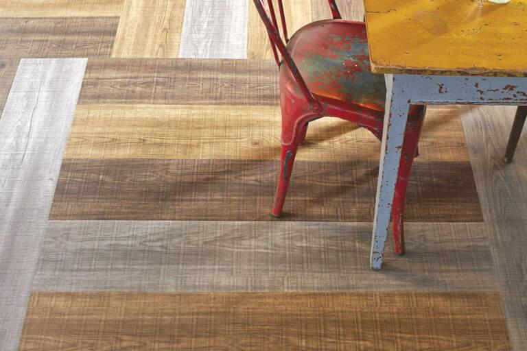 Linoleum - imitacija dekora drveta