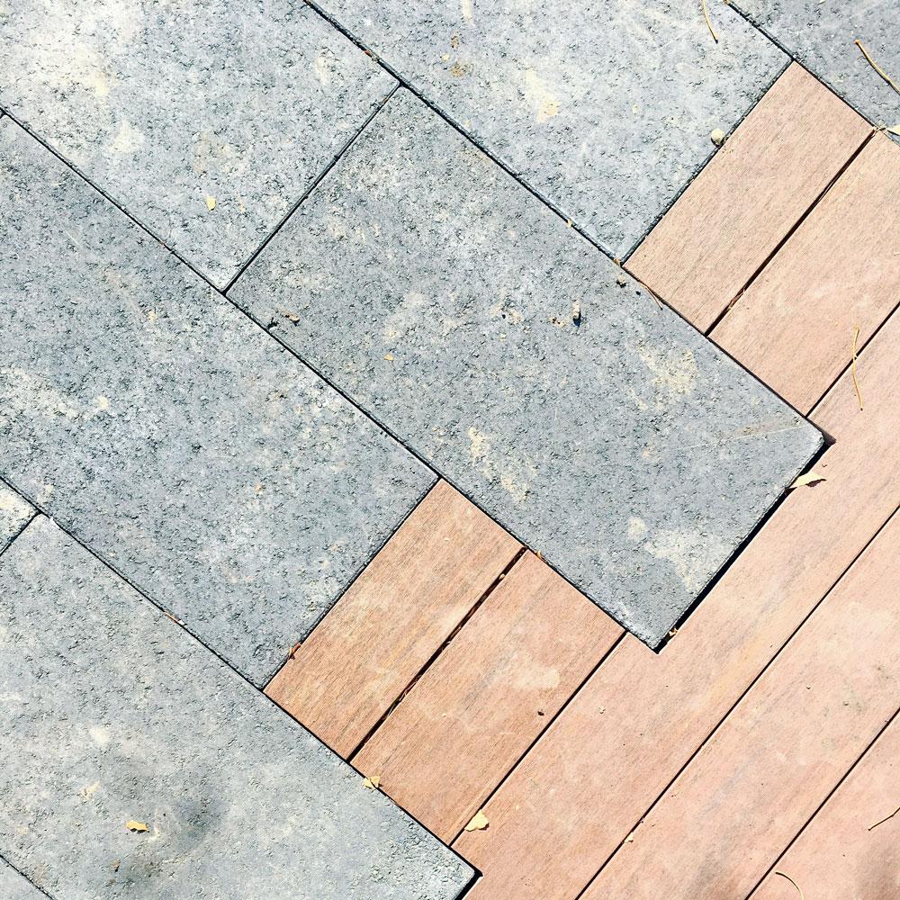 Betonske pločice - staza