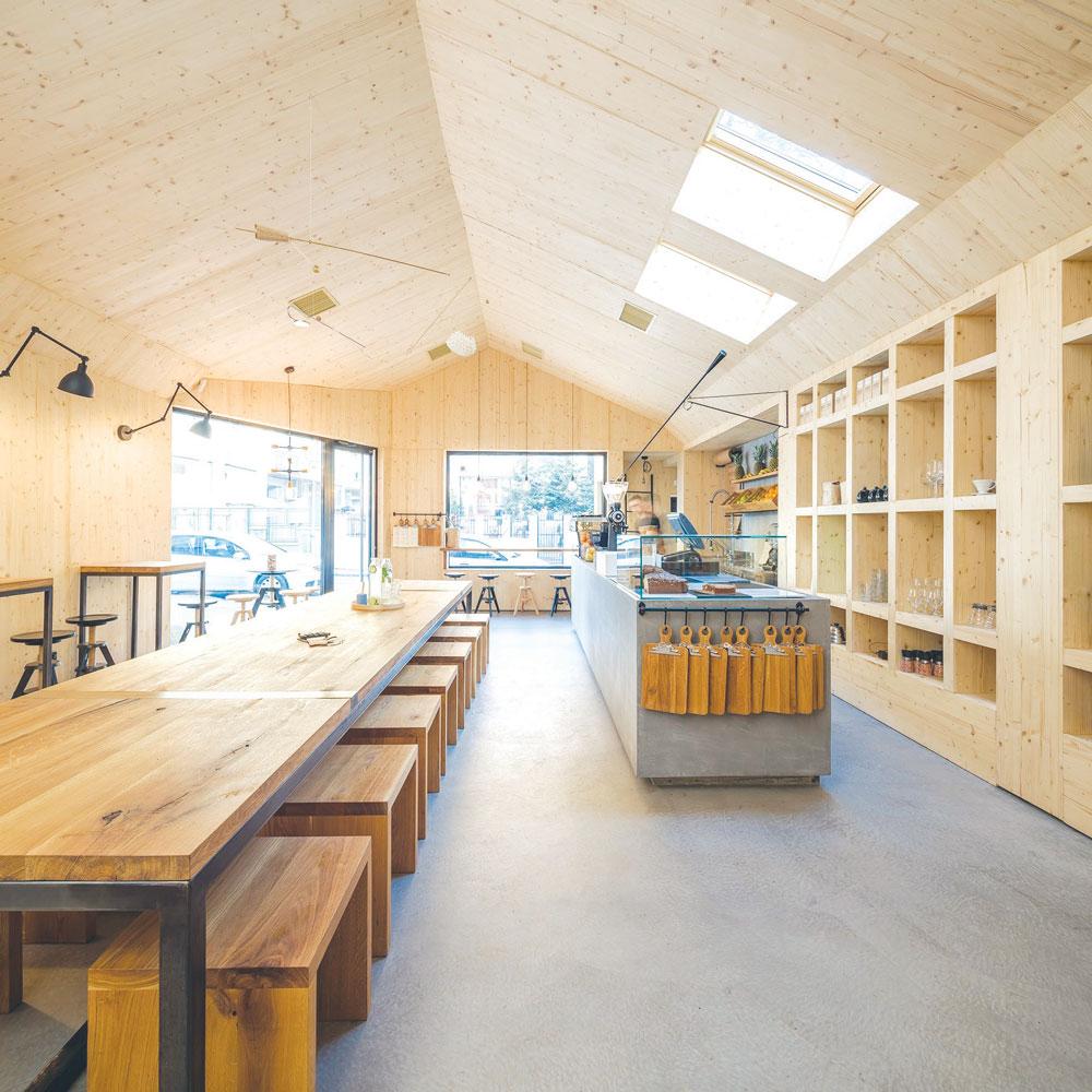 Dekorativni podovi - beton u komercijalnim objektima
