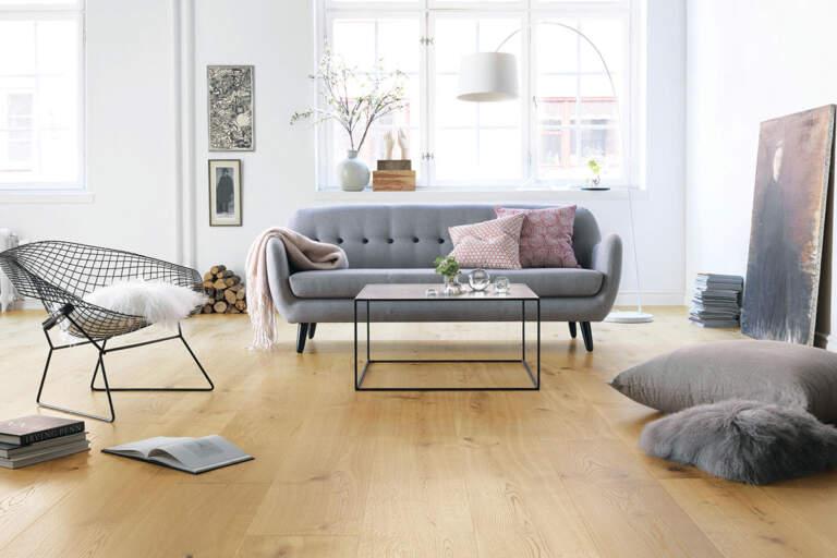 Drvo - brodski pod u dnevnoj sobi
