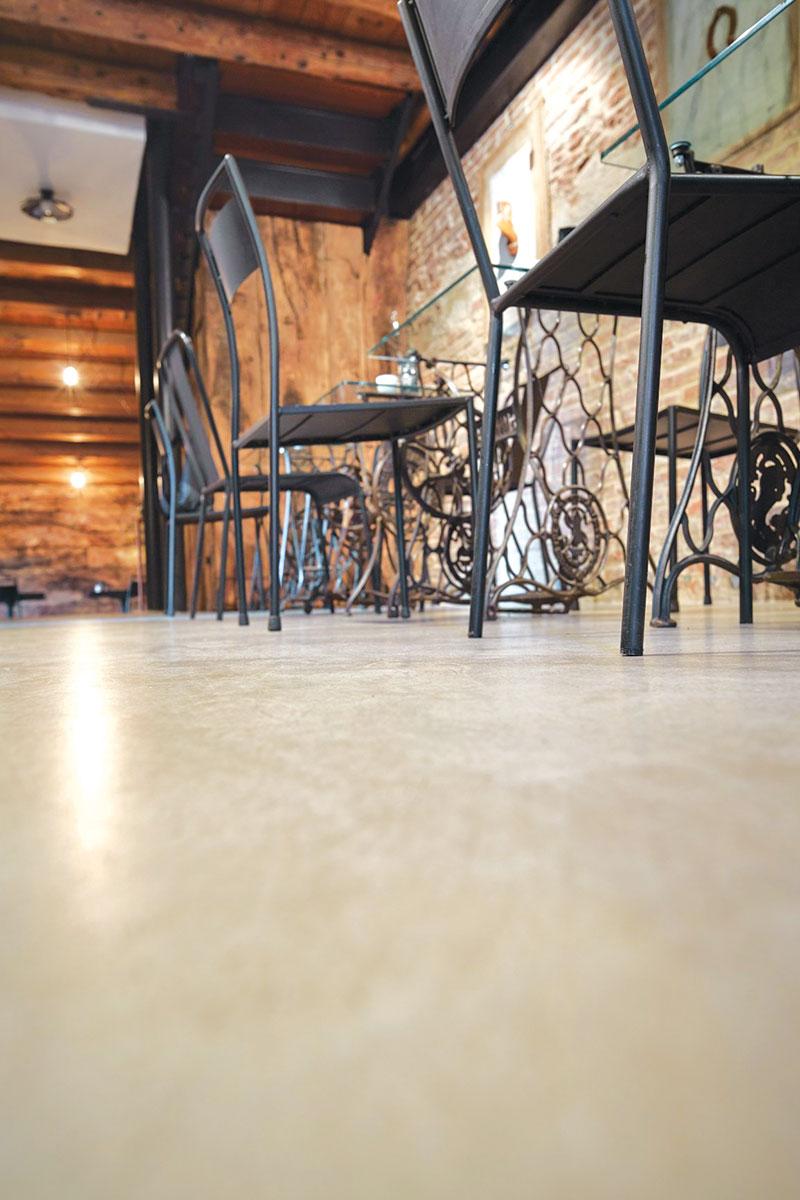 Polirani beton - komercijalni objekat