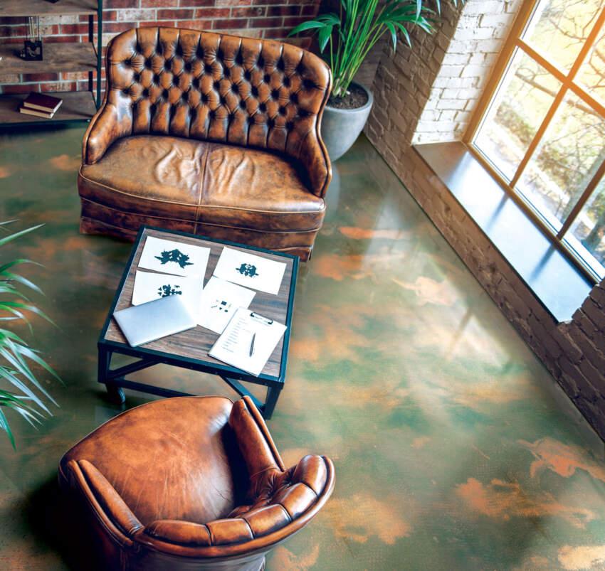 Rustični obrisi - Temafloor epoksi sistem za podove