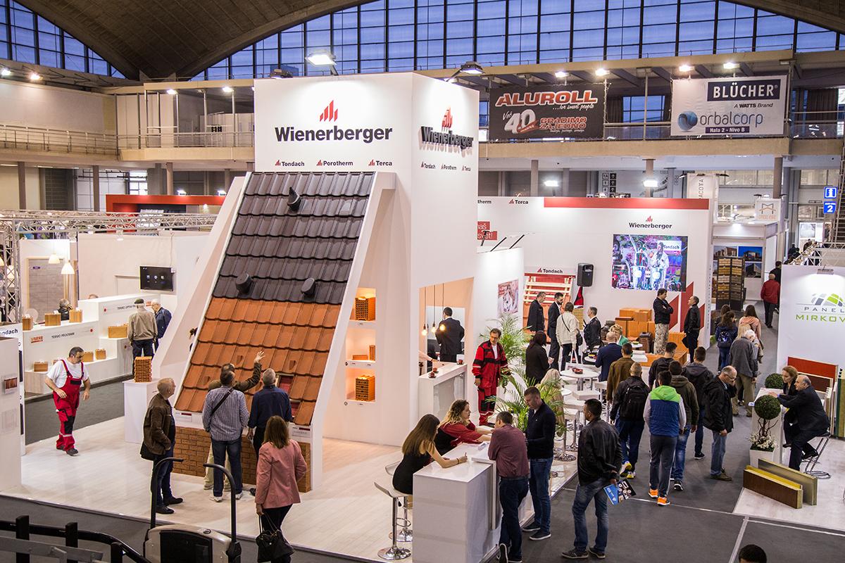 Wienerberger proizvodi izazvali veliku pažnju posetilaca sajma