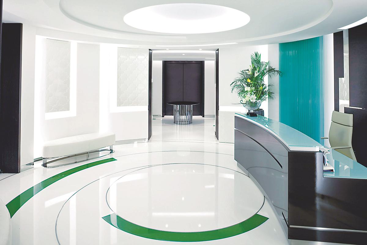 3D podovi u poslovnom prostoru