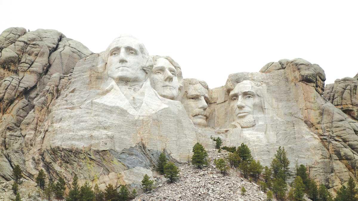 Granit, planina Rushmore