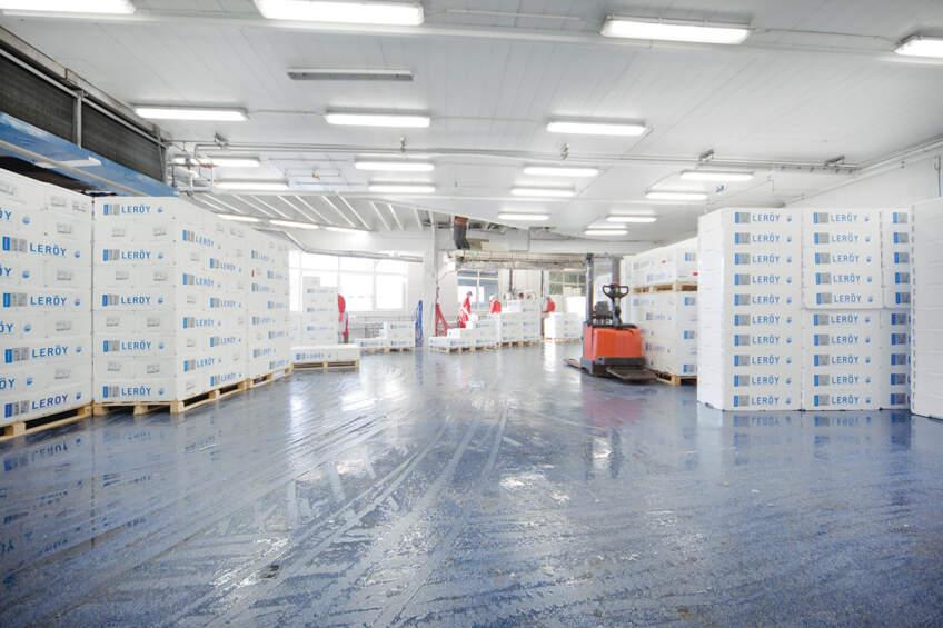 Industrijski podovi u skladištima