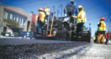 Izgradnja puteva - Asfalt