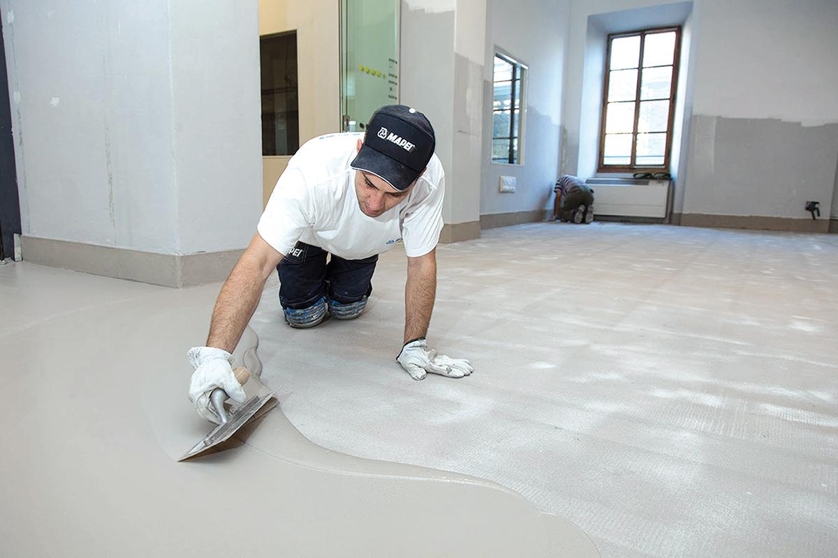 Podne obloge na bazi cementa, foto: MAPEI