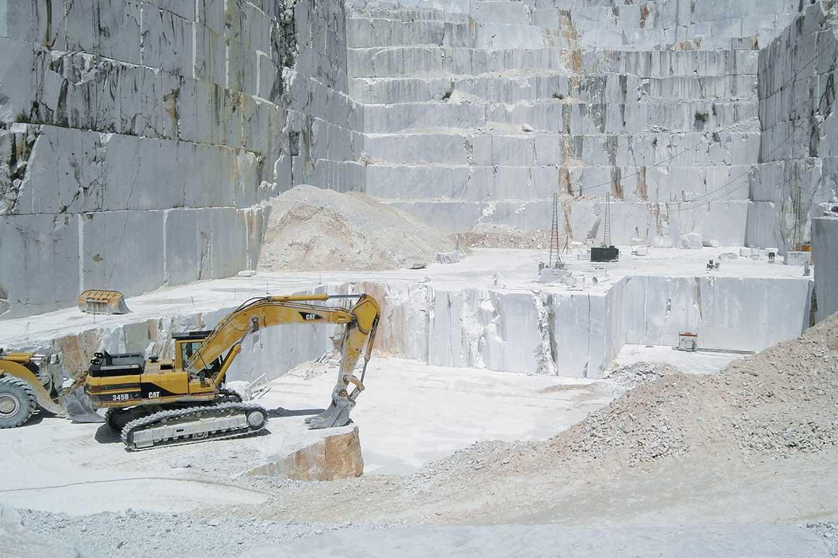 Najpoznatije i najveće nalazište mermera, Karara u Italiji