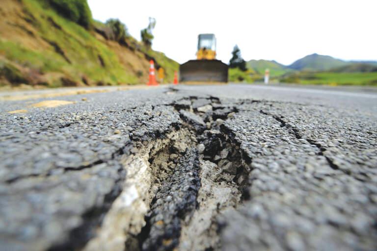 Oštećenje asfalta - putna infrastruktura