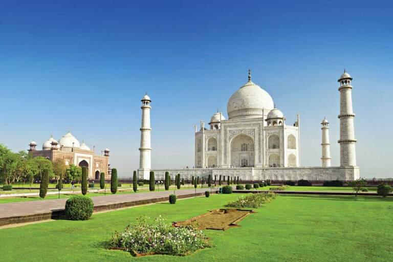 Taj Mahal, Indija - mermer