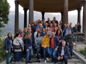 ACO tim sa saradnicima, Insbruk, Austrija