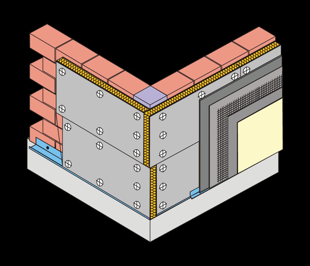 Primer 2 upotrebe lakih građevinskih ploča