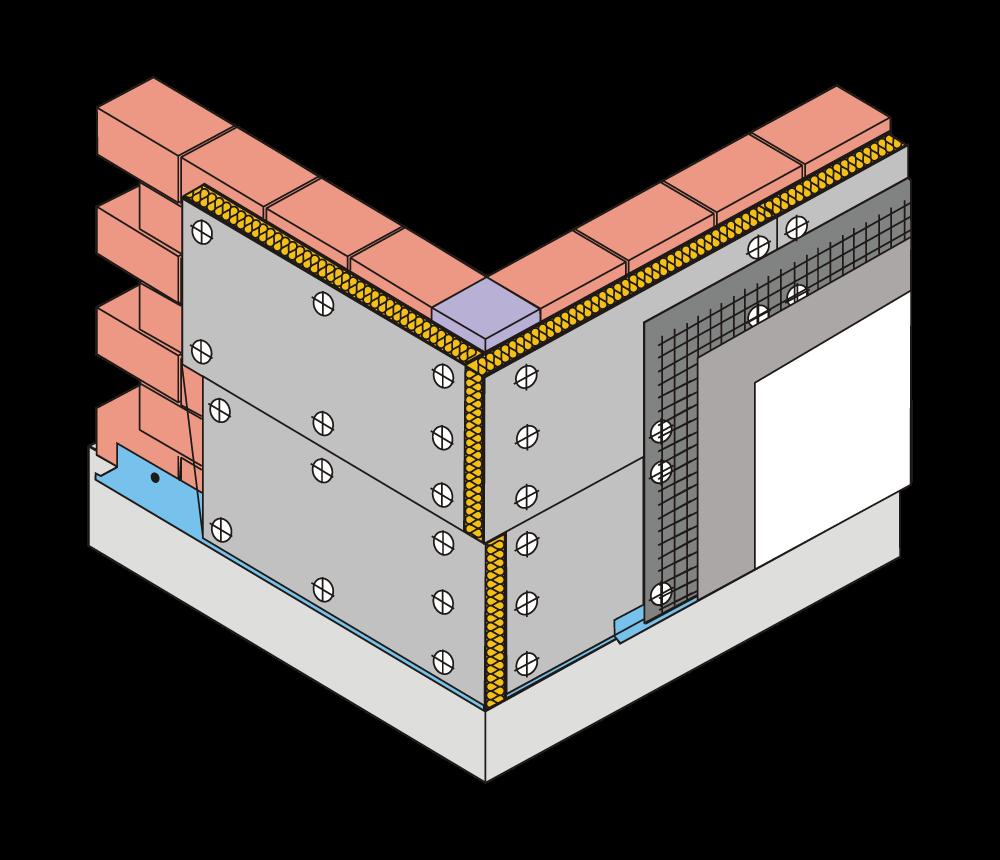 Primer 1 upotrebe lakih građevinskih ploča
