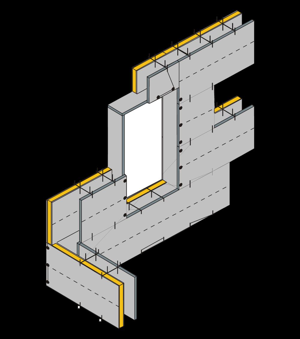 Primer 3 upotrebe lakih građevinskih ploča