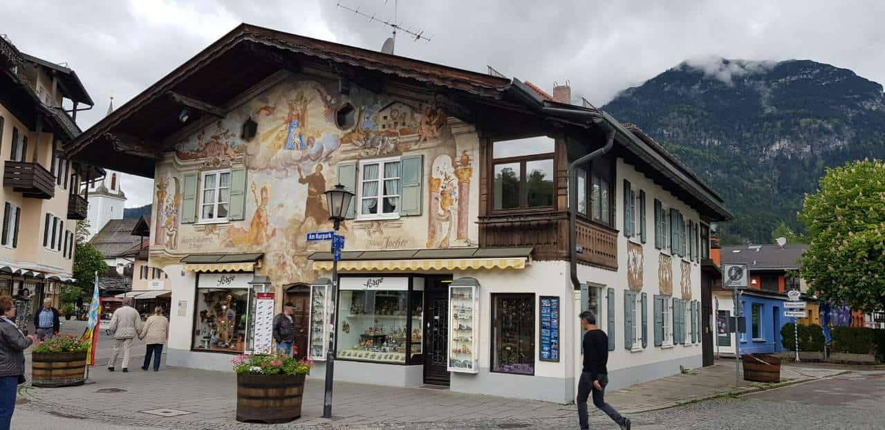 Arhutektura, Garmisch-Partenkirchen