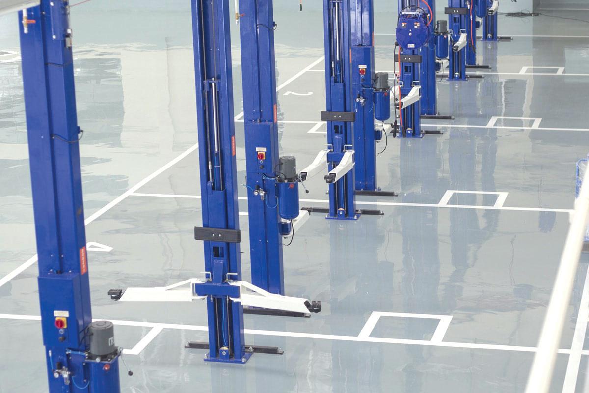 Industrijski pod u proizvodnim halama