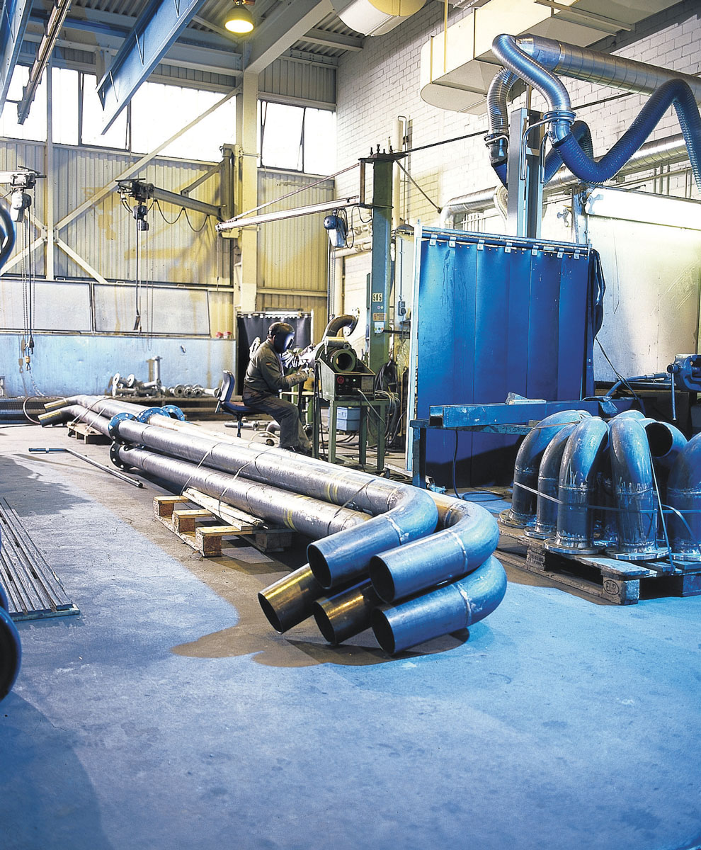 Industrijski pod u radionici