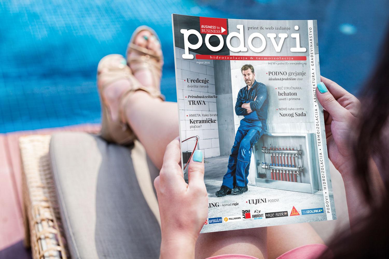Časopis PODOVI broj 40, avgust 2018