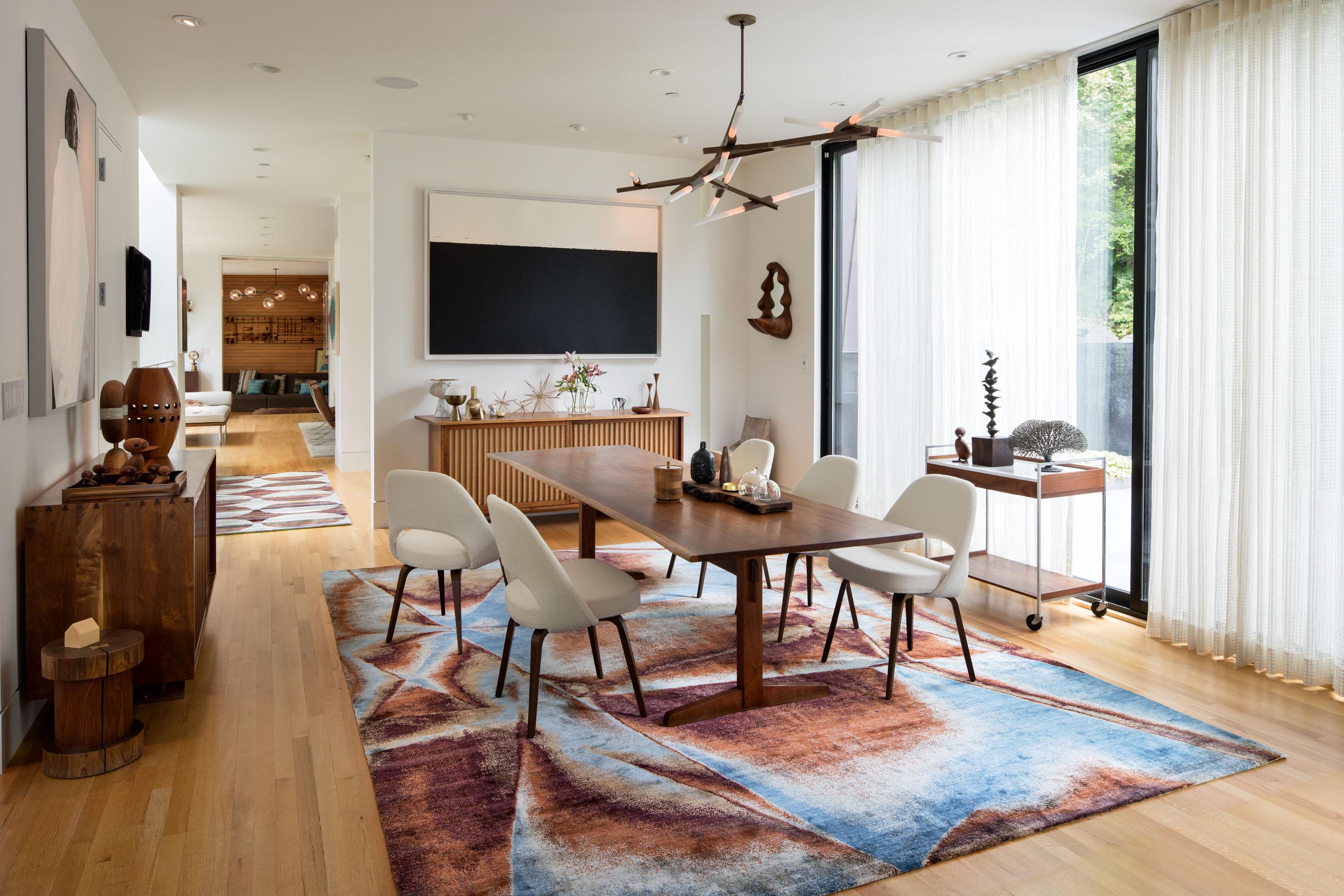 Rug Star Carpet - dizajner: Christine Millinger, postavka u Portlandu