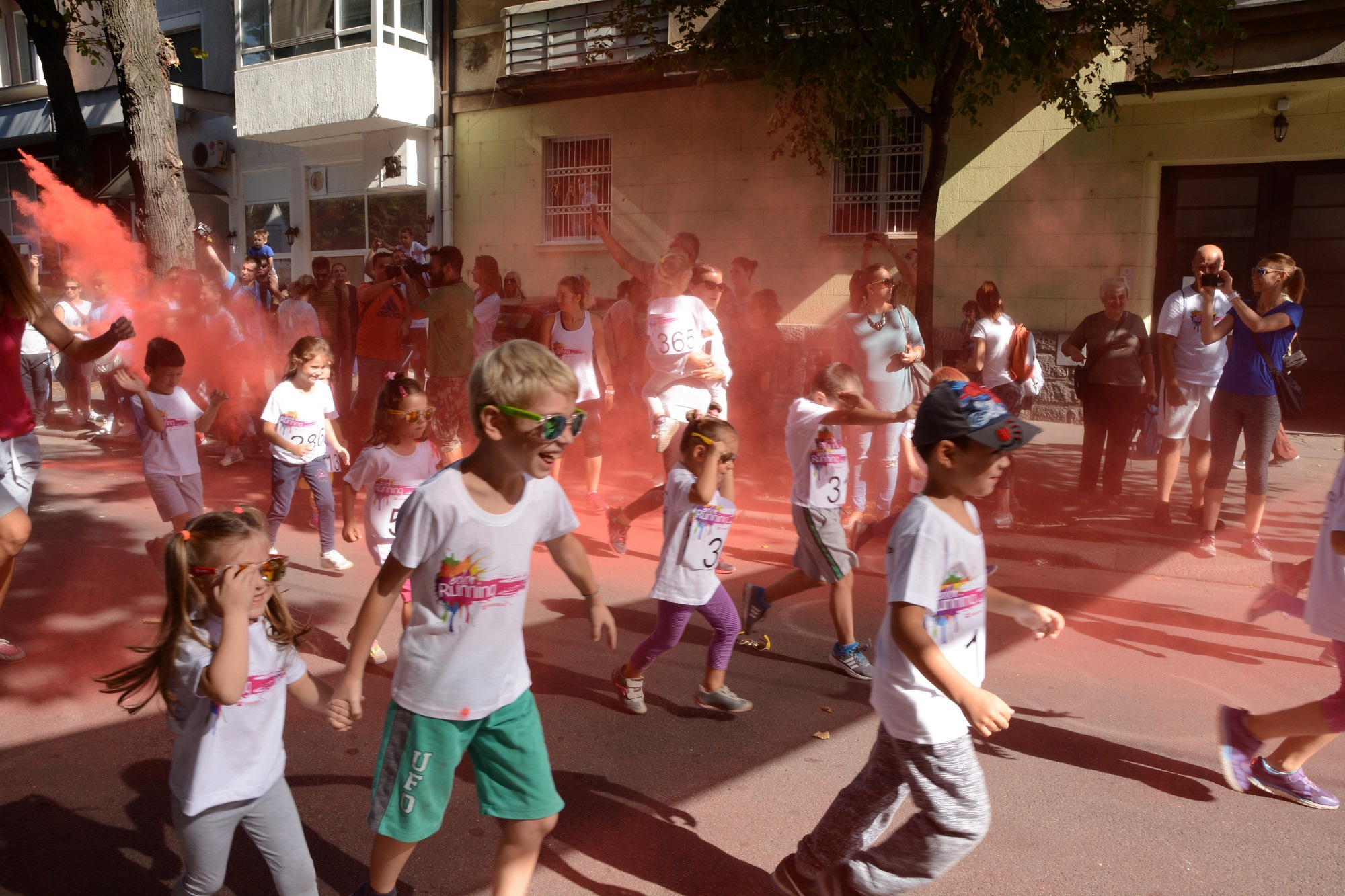 Color RUNNING powered by Tikkurila