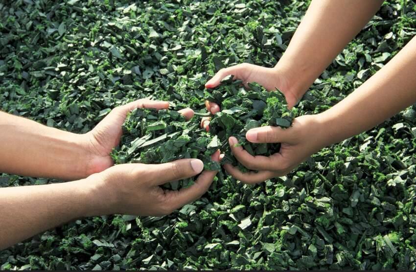 Reciklirana guma, granulat
