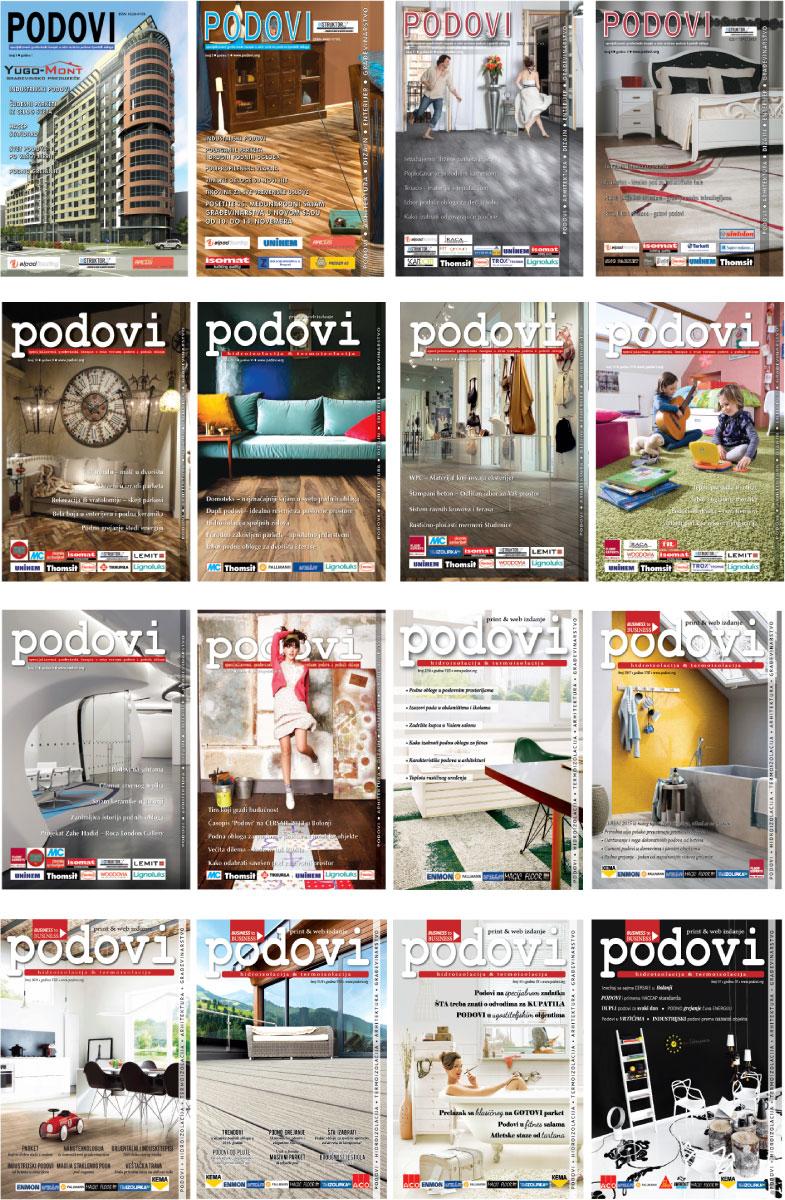 Naslovnice - Časopis PODOVI