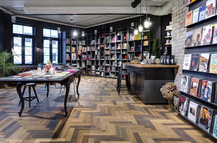 Chapel Parket Bookstore ©YME Studios