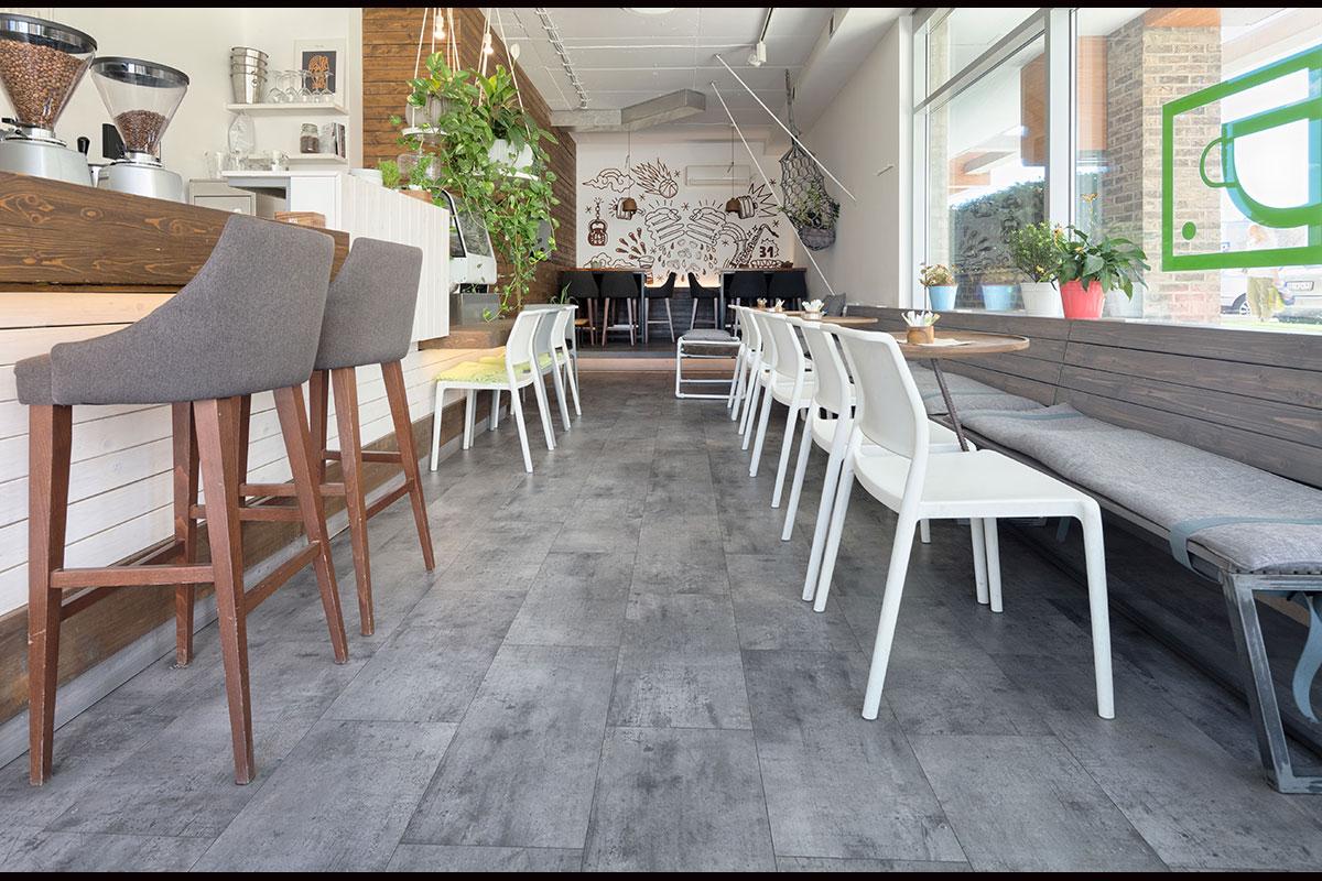 Tarkett LVT Drop kafe Beograd
